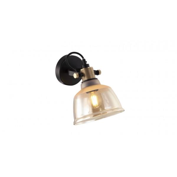 Aplică interior ASGARD AP1 ambra & gold & negru - Unique by Klausen
