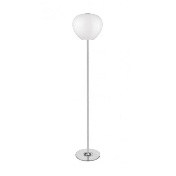 Lampadar ARAGON PT3 silver & alb opal - Unique by Klausen