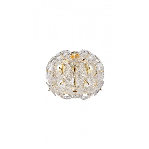 Aplică interior EXPLOSIVE AP1 gold & alb - Unique by Klausen