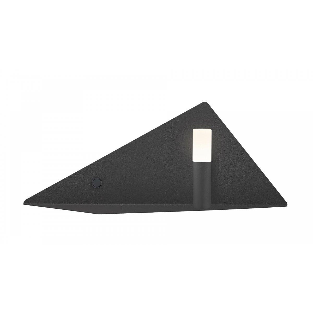 Aplică interior LED TRIGON AP1 negru mat - Unique by Klausen