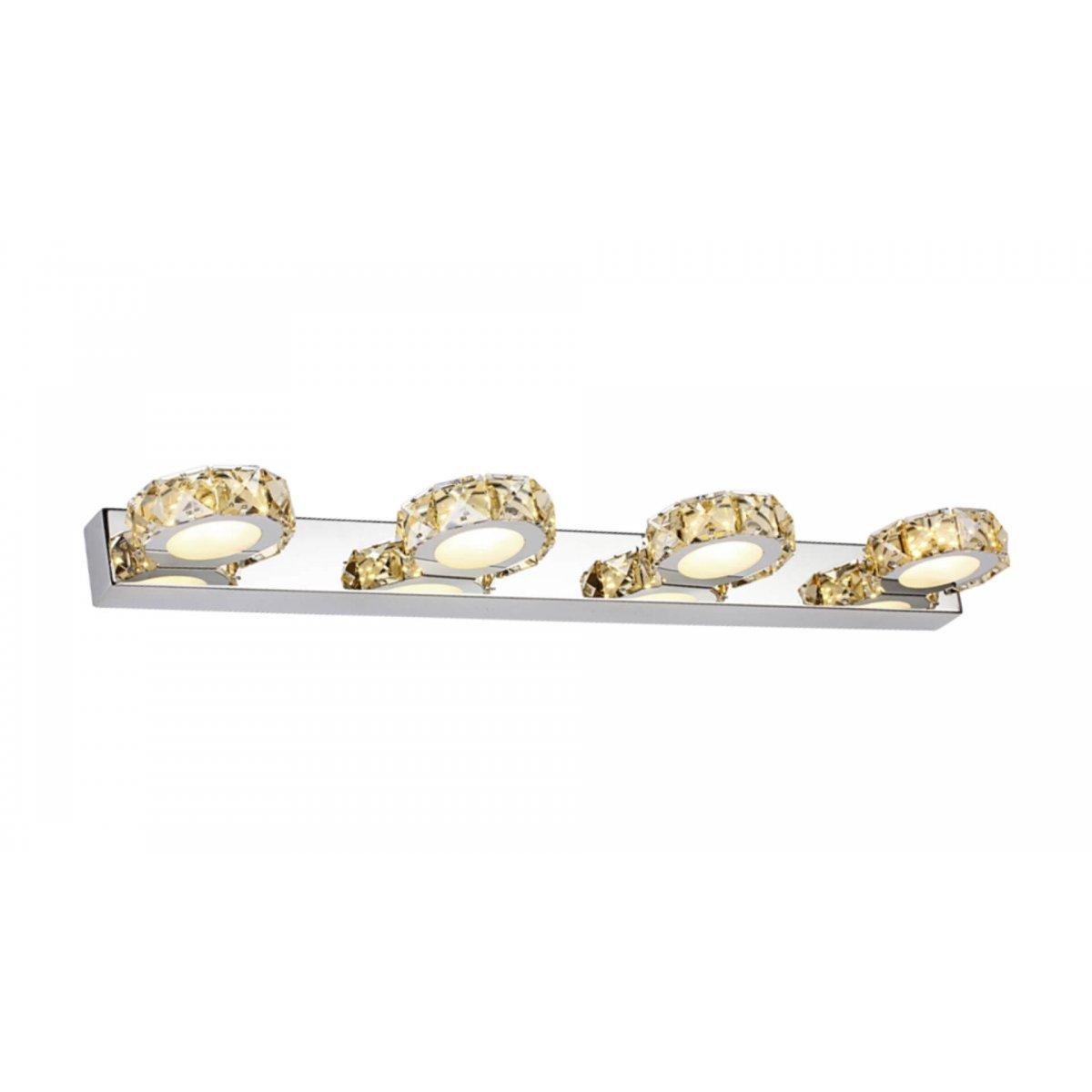 Aplică baie CHAMPAGNE gold & crom - Unique by Klausen