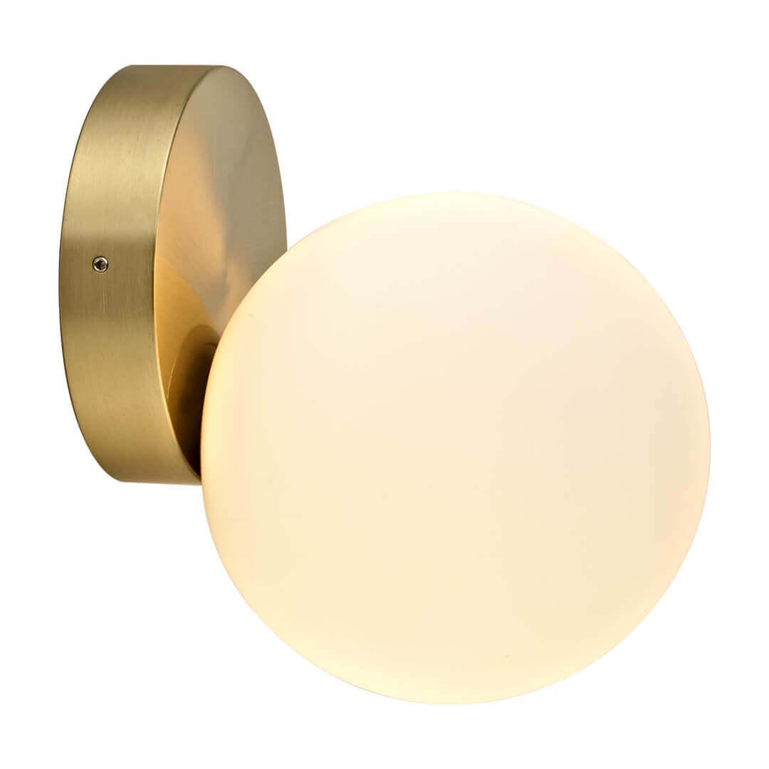 Aplică baie ARIA bronz & alb opal - Unique by Klausen