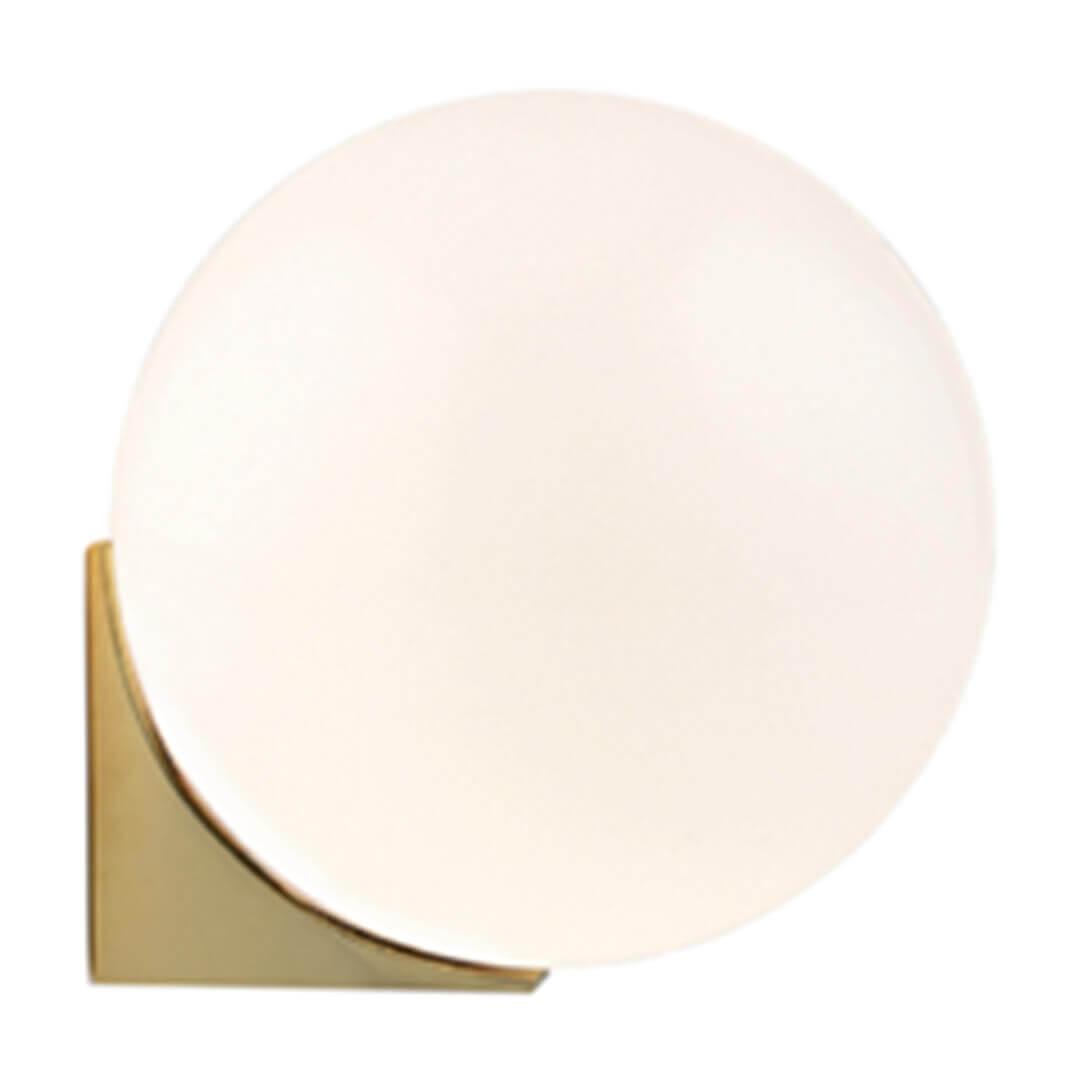 Aplică baie HERA alama & alb opal - Unique by Klausen